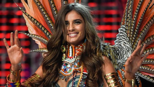 Victoria's Secret Angel, Taylor Hill. Picture: AFP