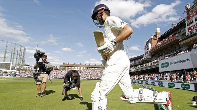 Alastair Cook can dream of making a century in his farewell Test at The Oval after making it to stumps on day three unbeaten.