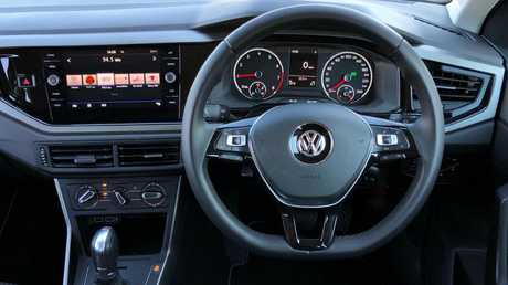 Star performer: The Polo's interior is class leading. Picture: Joshua Dowling.
