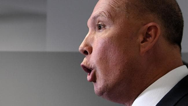 Peter Dutton will face multiple attacks in parliament. Picture: Dave Hunt/AAP