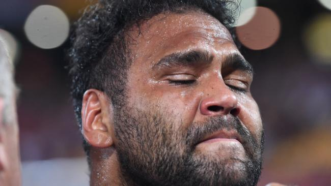 Sam Thaiday of the Broncos. Photo: AAP