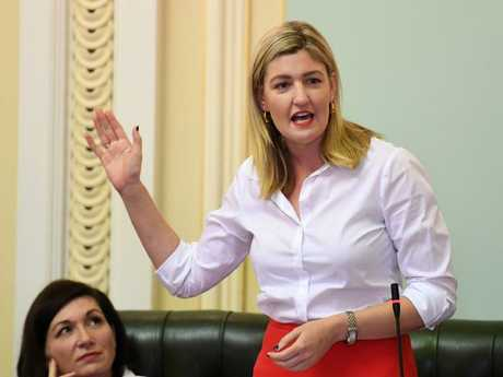 Employment Minister Shannon Fentiman said it was critical for the Bill's success that all MPs were afforded a conscience vote. Picture: AAP Image/Dan Peled
