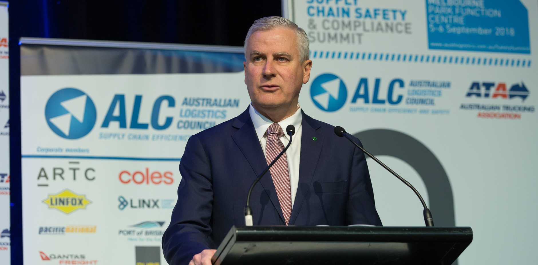 Deputy Prime Minister Michael McCormack at the safety summit