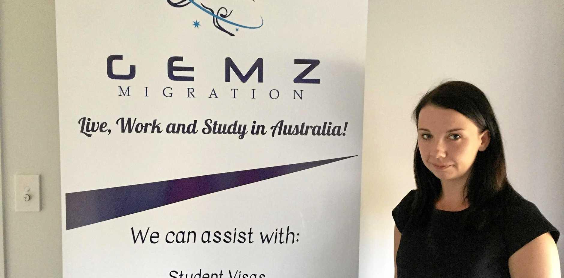 TOUGH TEST: Bundaberg migration agent Edyta Gradowska, who was born in Poland, got one question wrong on the citizenship