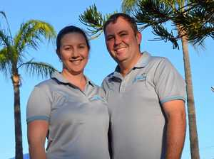 Pair dives in to a new venture at Gayndah's swimming pool