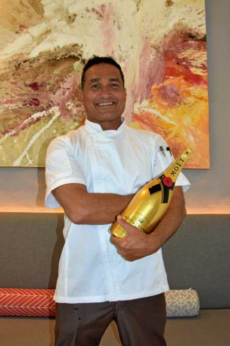LUNCH DATE: Peter Kuruvita has teamed up with Moet.