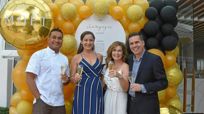 A sparking afternoon at the VIP launch of Champagne Lunch at Noosa Beach House.