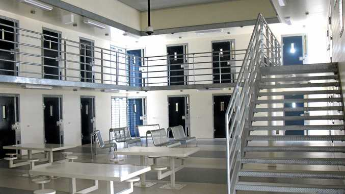 A high security cell block at the Southern Queensland Correctional Centre. Photo: Geoff Egan/ The Queensland Times