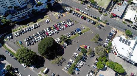 Brisbane Road Carpark, Mooloolaba.