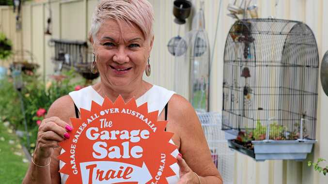 The Garage Sale Trail is back again next month as a weekend long event, held October 20 and 21.