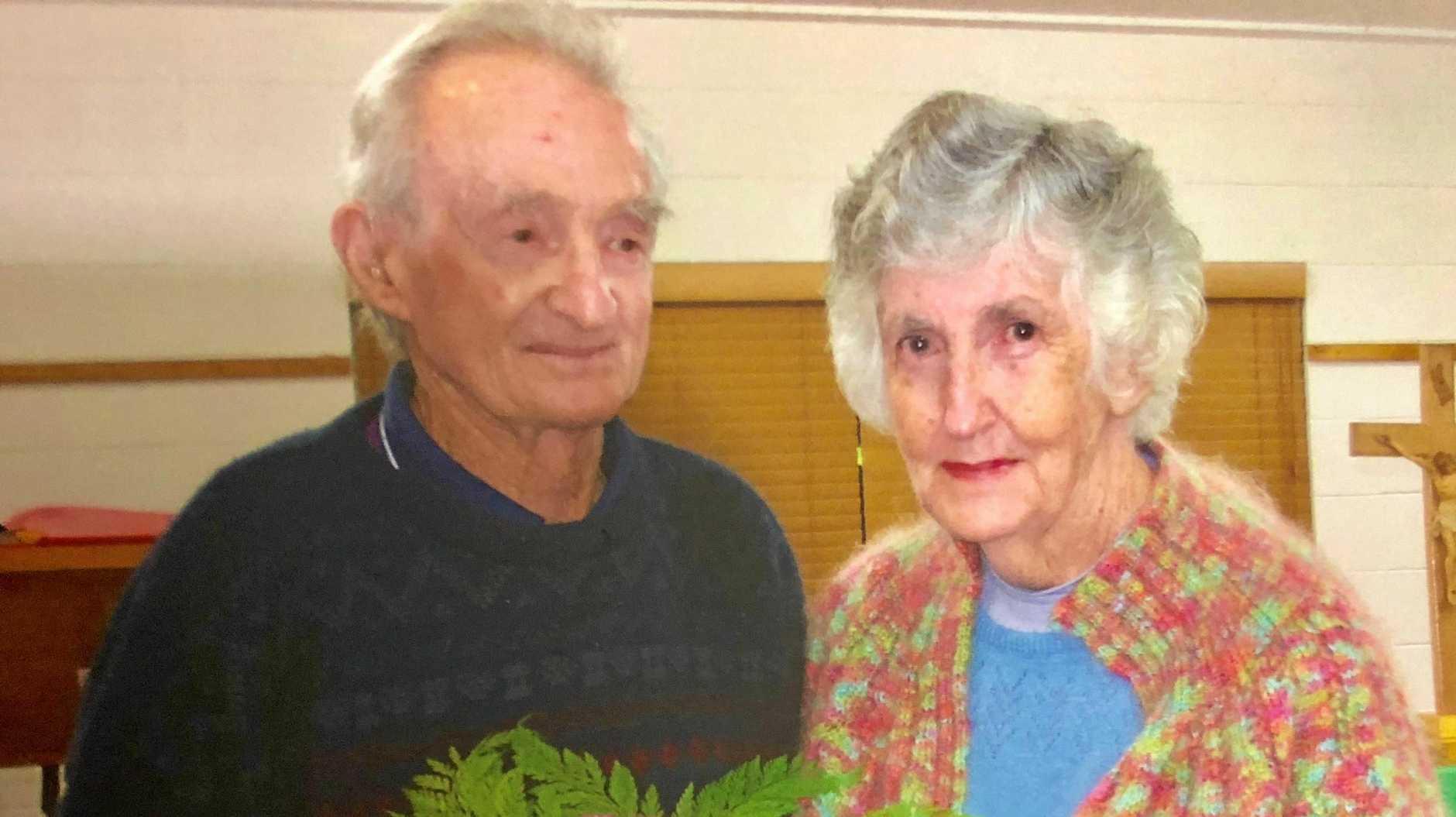CLAIMS DENIED: Sue Von Ritcher's late parents.