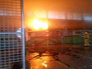 School fire: Structural report on suspicious blaze