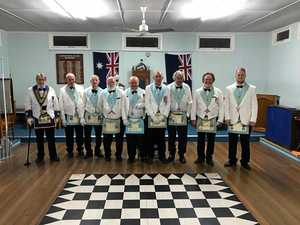 New lodge master keen to share Freemasonry with community