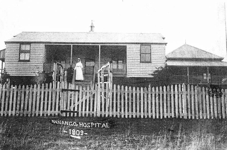 The Nanango hospital in 1909