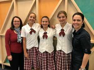 Good Shepherd students win award for sustainability app