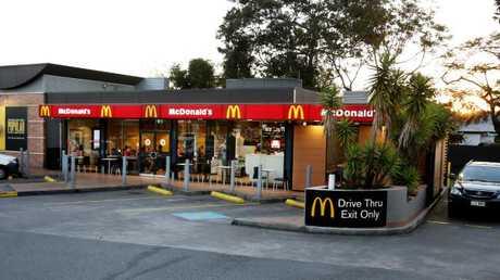 McDonalds alleges Mr Hubber was drunk (AAP Image Steve Pohlner)