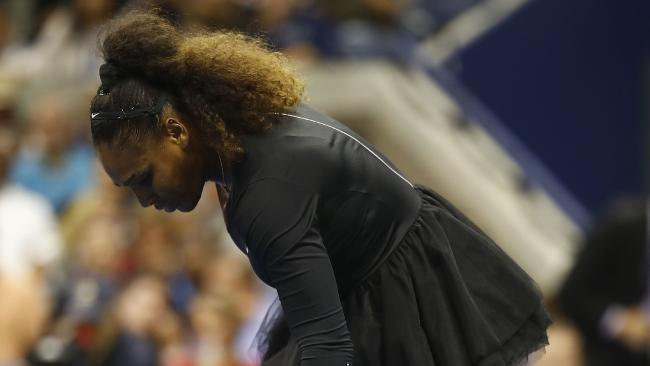 Serena Williams's Grand Slam loss at the US Open is historic for all the wrong reasons. (Pic: Julian Finney)