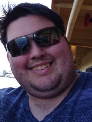 Josh said he was 198kg at his heaviest.