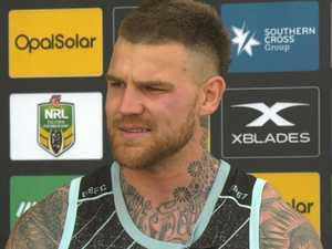 'I'm an easy target': Dugan breaks down in press conference