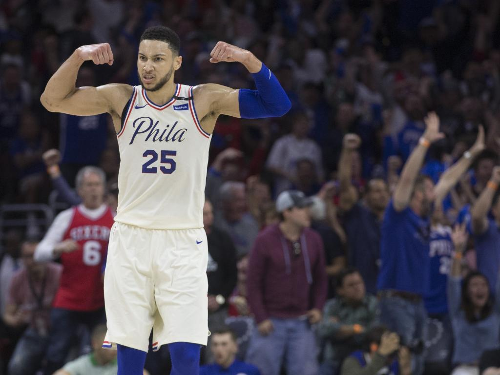 Ben Simmons is building his brand. (Photo by Mitchell Leff/Getty Images)