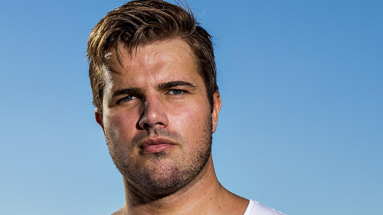 Gable Tostee changed his name to Eric Thomas by deed poll. Picture: Jerad Williams