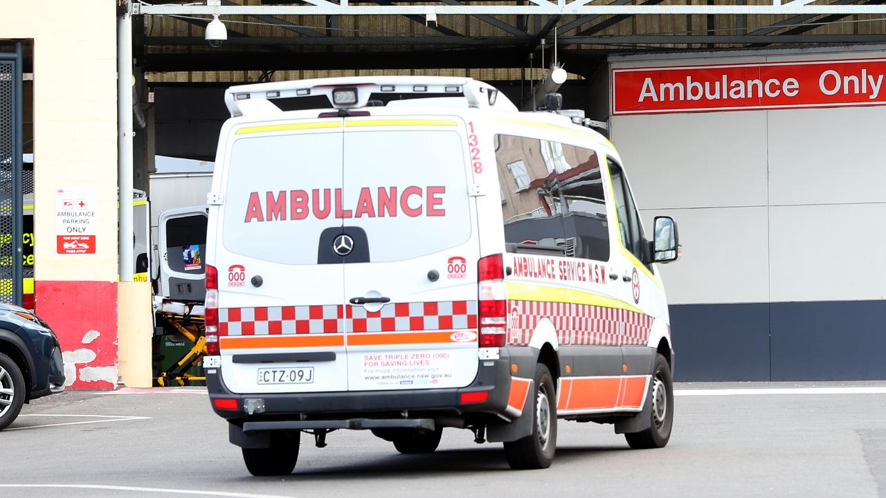 A young girl was taken to hospital after what appears to be an accidental hanging. Picture: Justin Sanson/AAP