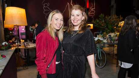 Lifestyle journalist Amelia Hungerford (right) will appear in court in October. Picture: Latte Luxury News
