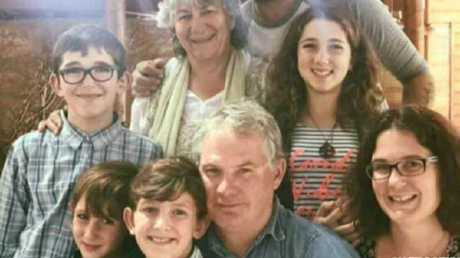 The Miles family were shot to death by Peter Miles (centre).