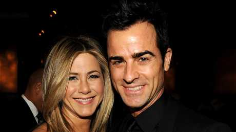 "Jennifer Aniston and Justin Theroux's divorce announcement earlier this year spoke of their ""deep love"" for each other. Picture: Kevin Winter"