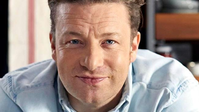 Jamie Oliver chased an intruder through his home and pinned him down. Picture: Supplied