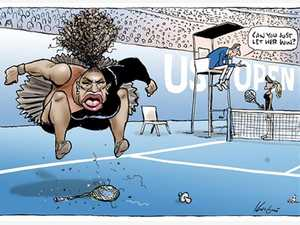 Herald Sun backs Mark Knight's Serena cartoon