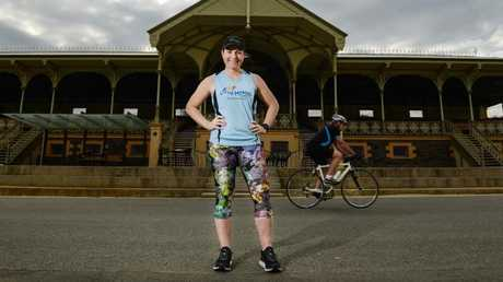 Meares started running after retiring from cycling following the 2016 Rio Olympics. Picture: Brenton Edwards