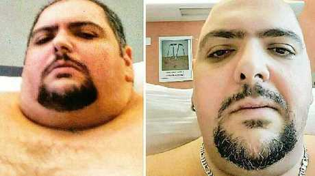 Andre originally weighed 468kg, but is now 370kg.