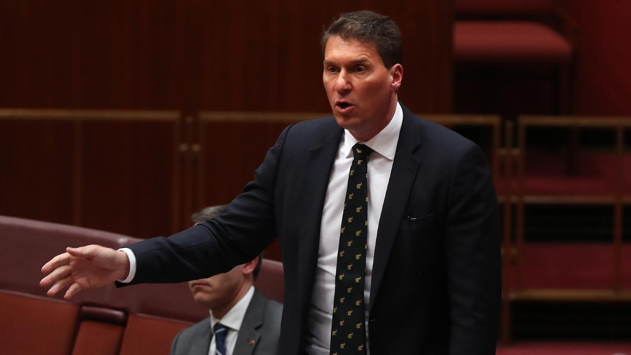 Australian Conservatives leader Cory Bernardi pushing for burqa ban in airport and Centrelink.