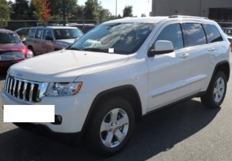 Photographed is a similar vehicle, however not the actual vehicle stolen.