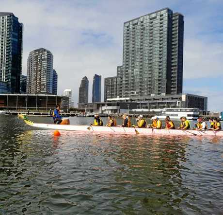 The Boating For Brains crew will attempt a 600km Dragon Boat Journey to raise $200,000 for the Royal Children's Hospital in Melbourne.