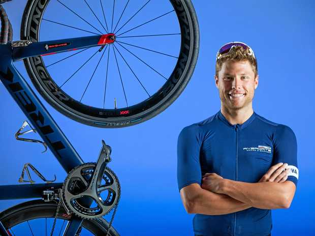 Tom Hill will be the only Aussie rider among a group cycling 1000km through France to Monaco to raise funds for The Blue Marine Foundation.