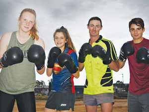 Four medals for team at state boxing tournament