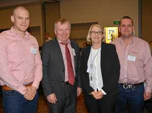 Luncheon provides opportunity for networking