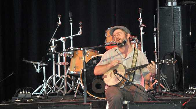 Woodford Folk Festival: Old Man Luedecke had the crowd singing along during one of his performances.