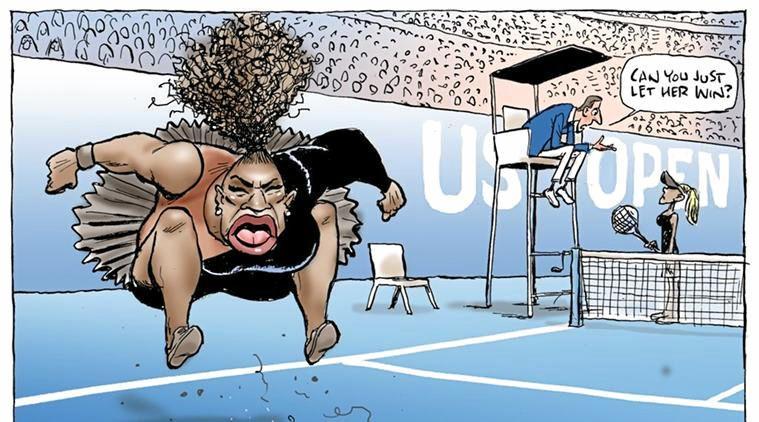 Mark Knight's cartoon has created plenty of interest around the world.