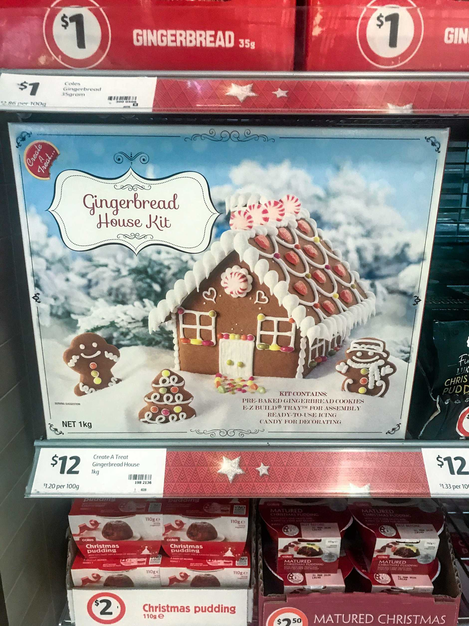TOO SOON? Christmas in September at Coles is confusing some shoppers.