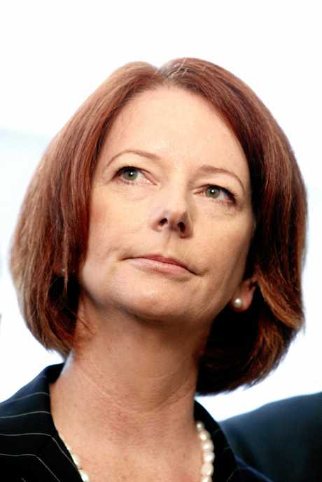 Julia Gillard in 2010, just a weeks after becoming the first female Prime Minister in Australian history.