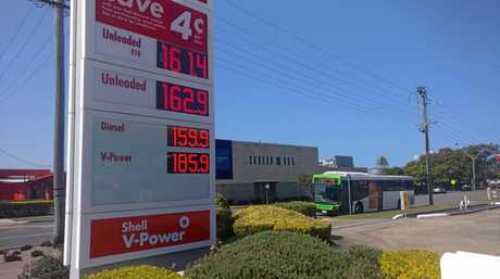 HIGH PRICES: Coles Express in Tweed Heads.