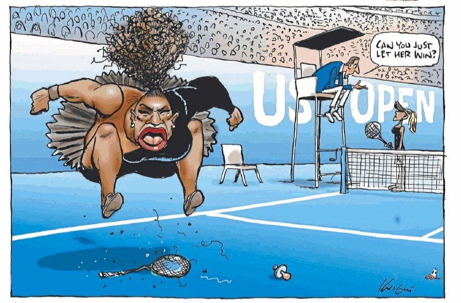 Mark Knight's Herald Sun cartoon.