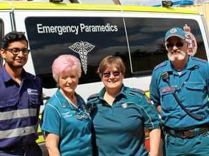The group supporting our paramedics