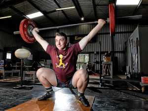 Weightlifter shares motivation behind Australian title win