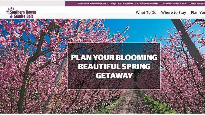 The Southern Downs and Granite Belt website.