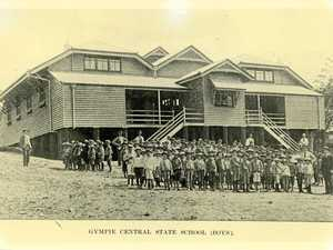 This Gympie school burnt down, was rebuilt...and had goats!