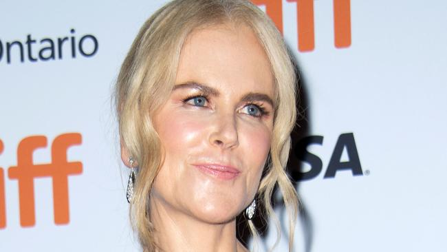 Nicole Kidman, wigging out. Picture: AFP